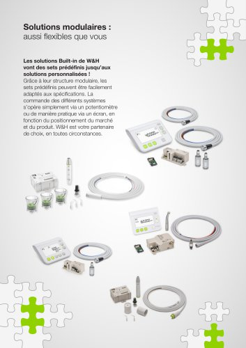 Solutions modulaires