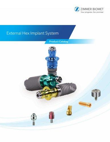 External Hex Implant System