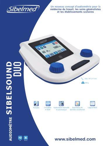 Audiomèter Sibelsound DUO