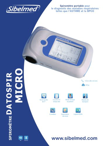 Spirométre DATOSPIR MICRO