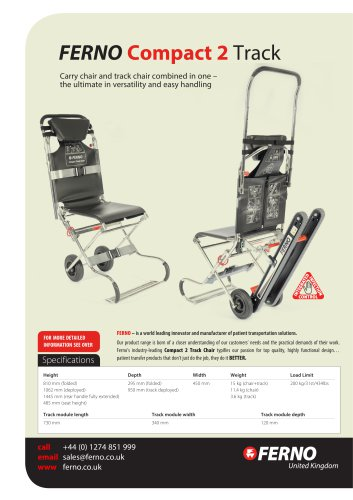 Compact 2 Track Chair