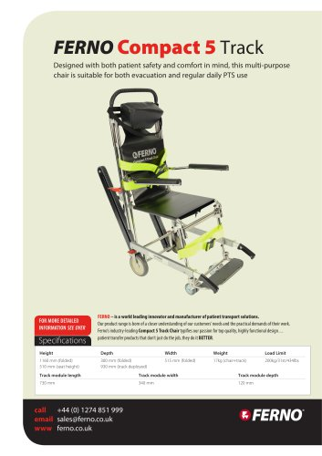 Compact 5 Track Chair