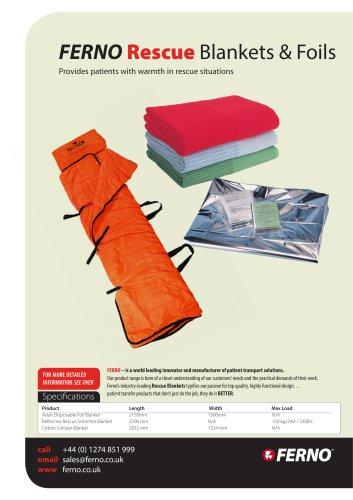 Ferno Rescue Blankets
