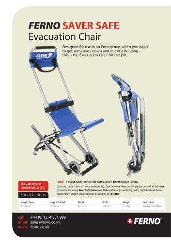 Ferno saver safe :evacuation chair