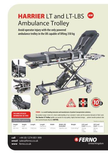 Harrier LT and LT-LBS Ambulance Trolley