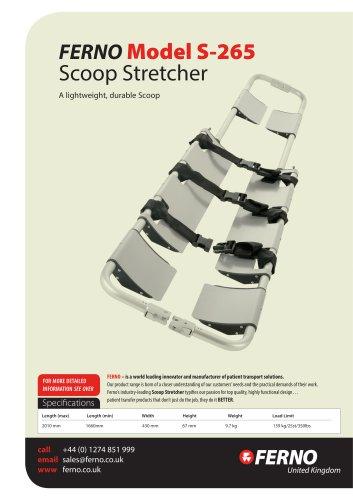Model S-265 Scoop Stretcher