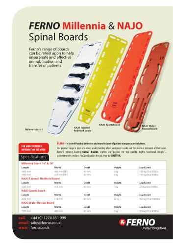 Spineboards