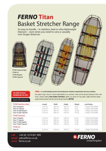 Titan Basket Stretcher Range