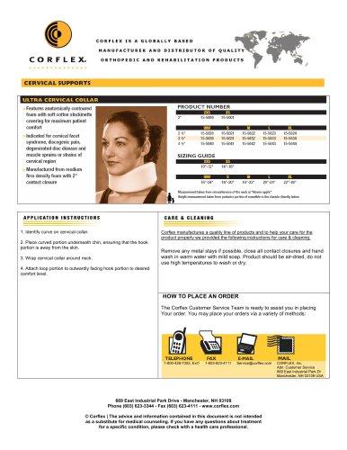 Ultra Cervical Collar