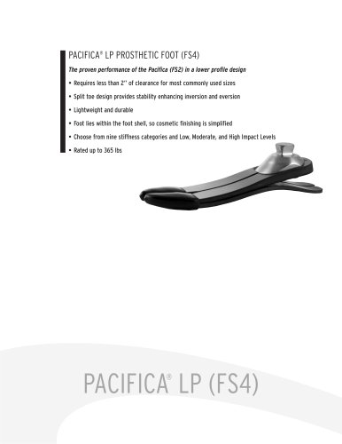 LP Catalog Information