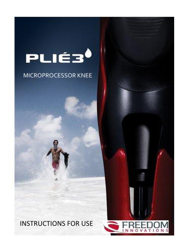 Plié 3 Instructions For Use