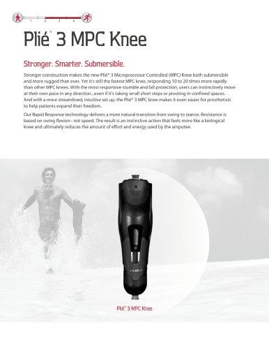 Plié® 3 MPC Knee