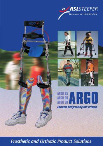 Advanced Reciprocating Gait Orthosis (ARGO)
