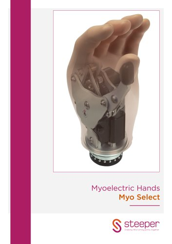 Myoelectric Hands Myo Select