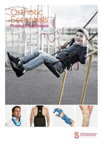 Orthotic Essentials Product Catalogue