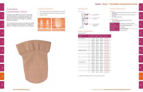 Socks - Össur - Transtibial Compression Socks