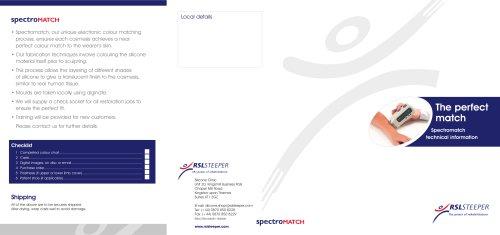 Spectromatch Brochure