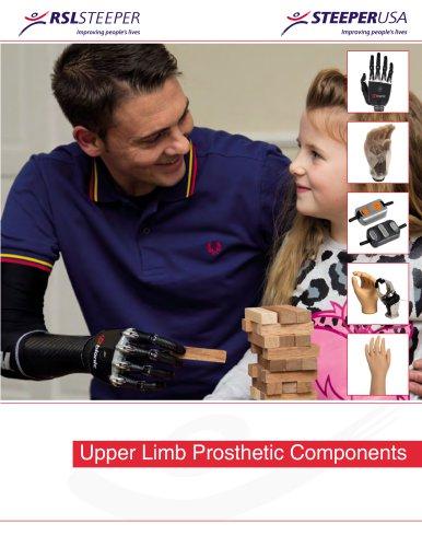 Upper Limb Prosthetic Components Catalogue