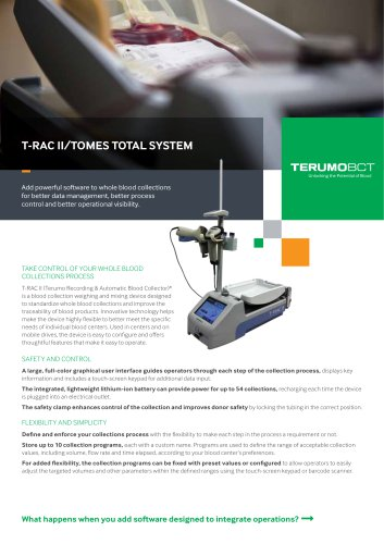 T-RAC II/TOMES TOTAL SYSTEM