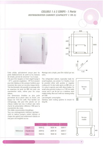 1 to 2 Body Cold Chamber