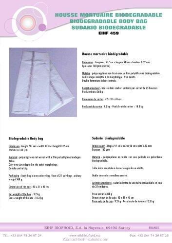 Biodegradable Body Bag