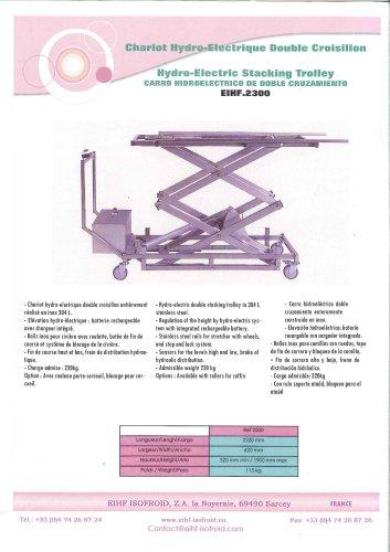 Hydro-electric trolley