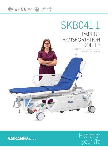 SKB041-1 Patient-Transportation-Trolley_SaikangMedical