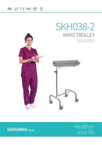 SKH038-2 Mayo Trolley SaikangMedical