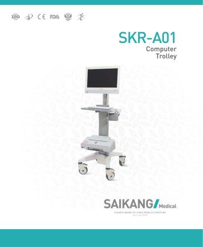 SKR-A01 Computer-Trolley_SaikangMedical