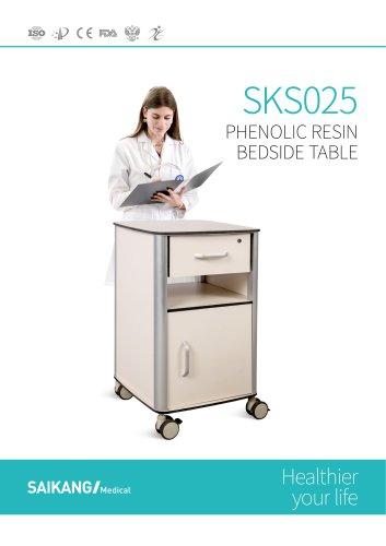 SKS025 Phenolic-Resin-Bedside-Table_SaikangMedical