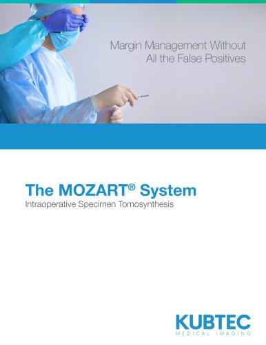 The MOZART® Specimen Tomosynthesis Imaging System