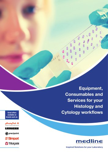 Equipment, Consumables and Services for your Histology and Cytology workflows