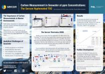 Carbon Measurement in Seawater at ppm Concentrations: The Sercon Hyphenated TOC