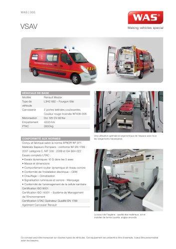 WAS 300 Ambulance Renault Master Fourgon 3,5 T