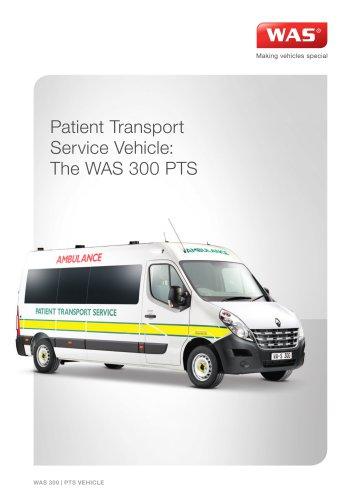 WAS 300 Patient Transport Service PTS Renault Master Panel Van 3.5 T