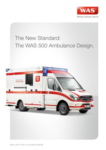 WAS 500 Ambulance Design