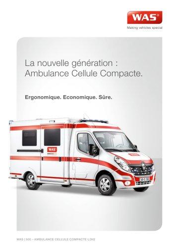 WAS 500 Ambulance Renault Master Cellule 3,5 T