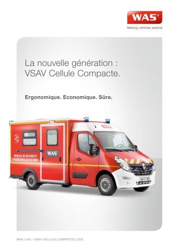 WAS 500 Ambulance Renault Master Cellule VSAV 3,5 T