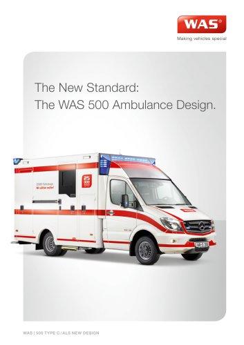 WAS 500 Emergency Ambulance Mercedes-Benz Sprinter Box Body Type C 5 T