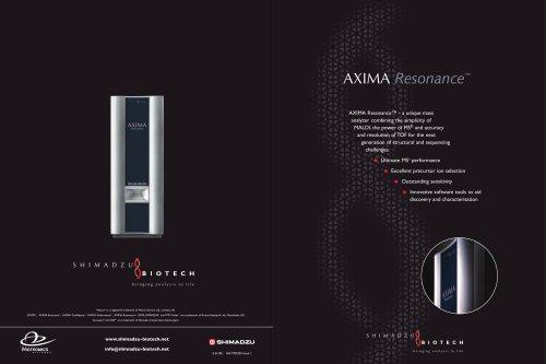 AXIMA Resonance