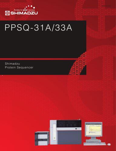 Edman Sequencer PPSQ-31A/33A