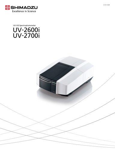 UV -VIS Spectrophotometer UV -2600i UV -2700i