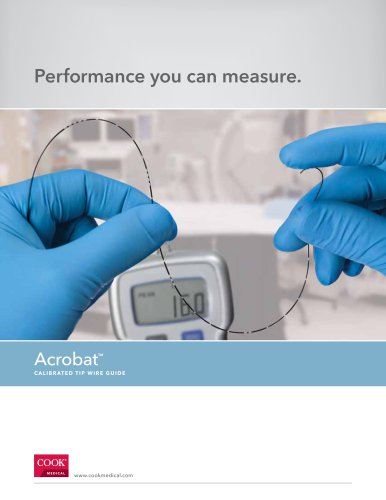 Acrobat™ Calibrated Tip Wire Guide