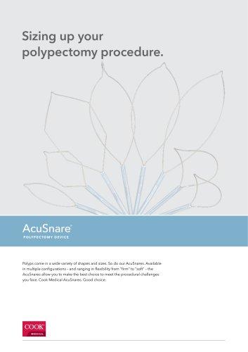 AcuSnare® Polypectomy Device Datasheet