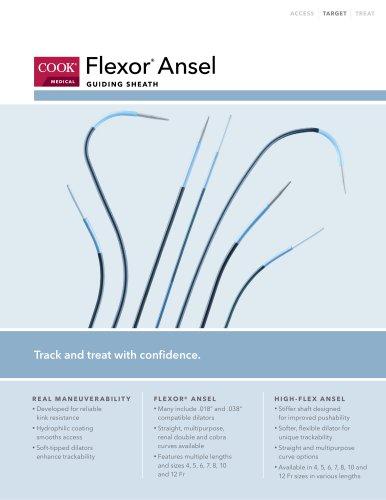 Flexor Ansel Guiding Sheath