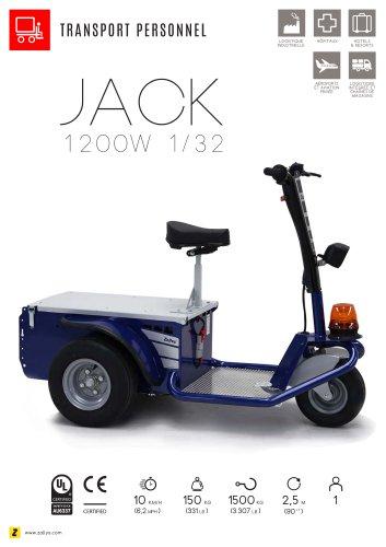 JACK Triporteur électrique