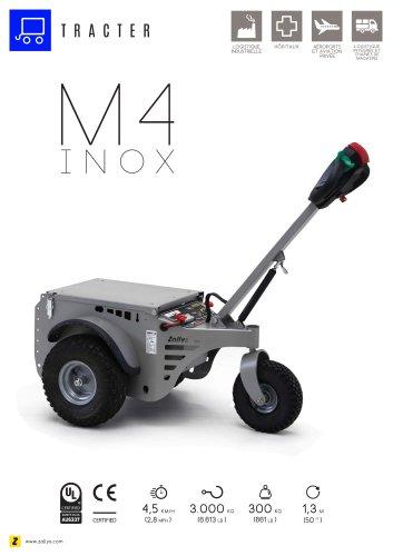 M4 Tracteur électrique acier inoxydable