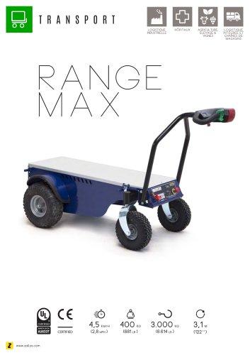 RANGE MAX Chariot transporteur à 4 roues