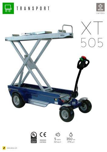 XT505 chariot électrique avec système de levage