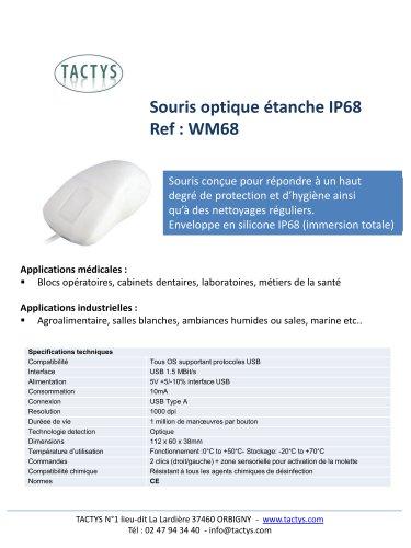 Souris médicale IP68 - WM68
